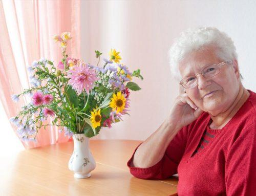 """""""Schön, dass es euch gibt."""" Ein bunter Geburtstagsstrauß für von Armut betroffene Senioren"""